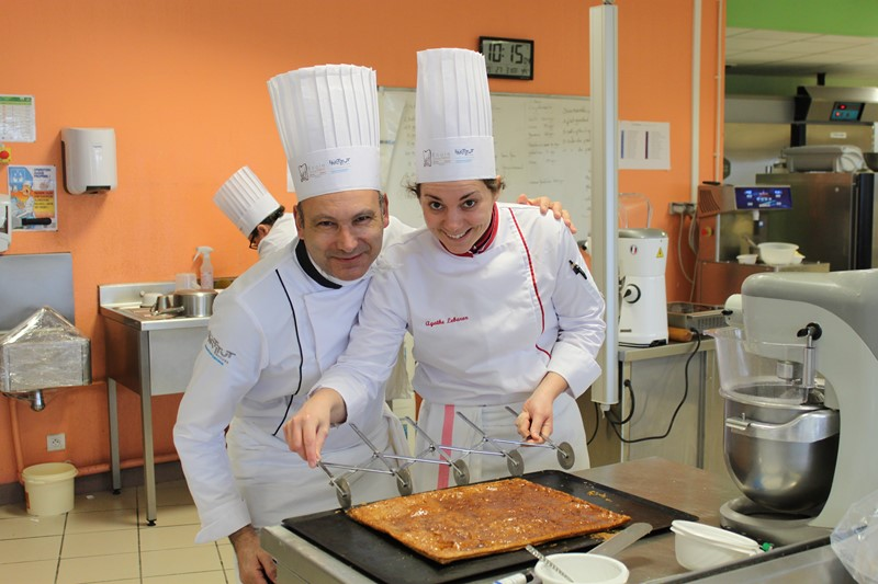 Apprenants cuisiniers