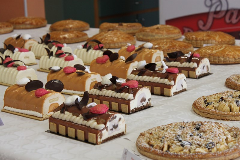Buffet Stage Galettes & Bûches - Ecole Christian Vabret