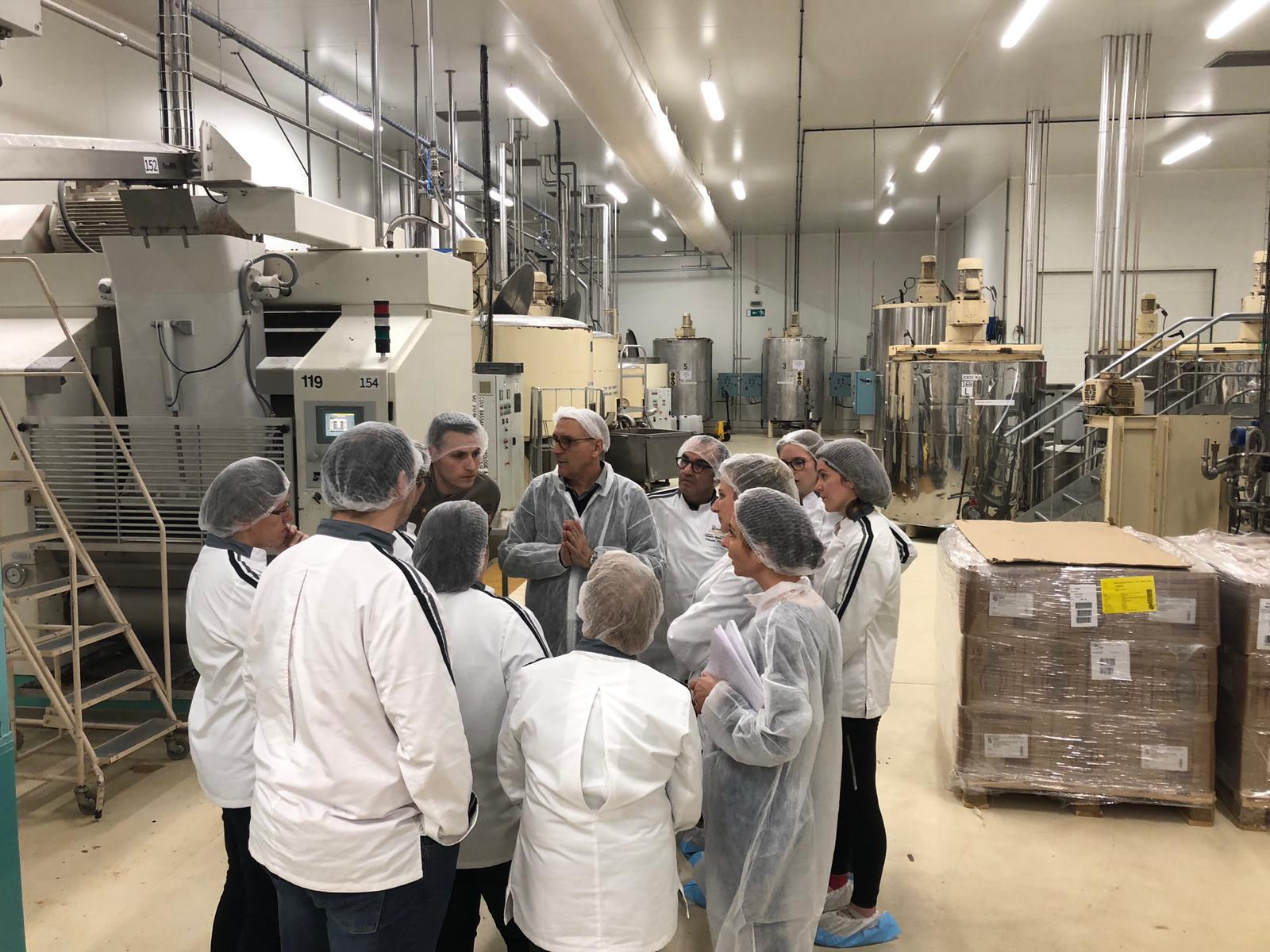 Visite chocolaterie Weiss