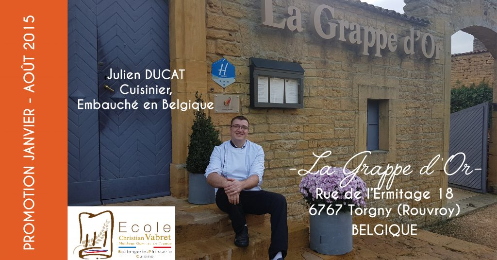 LA GRAPPE D OR- JULIEN DUCAT