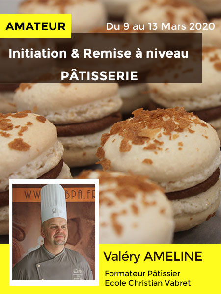 Initiation Patisserie - ecole christian vabret