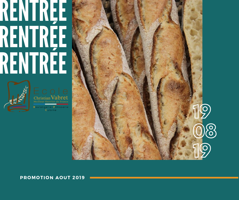 rentree aout 2019