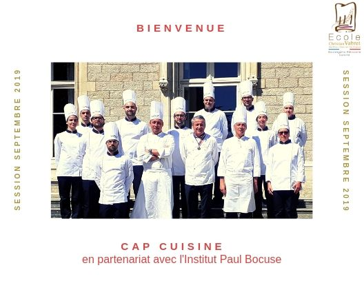 CAP CUISINE - SESSION SEPTEMBRE 2019