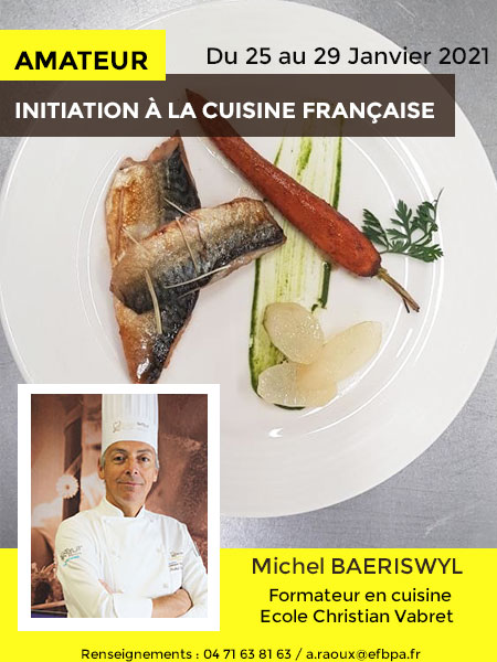 INITIATION-CUISINE - ECOLE CHRISTIAN VABRET