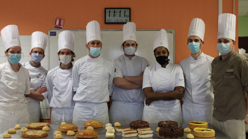 Initiation a la patisserie pour les apprenants boulangers